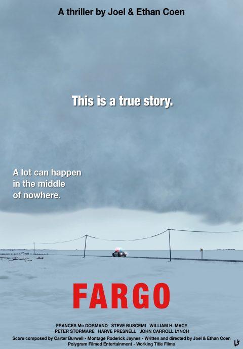 Fargo alternative movie poster 1st version