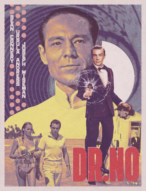 Doctor No Vintage Poster
