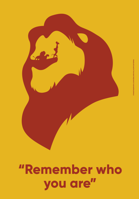 The lion king Minimalist Poster