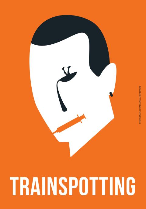 Trainspotting Minimalist Poster