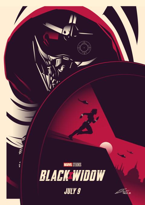 Marvel BLACK WIDOW Poster Art