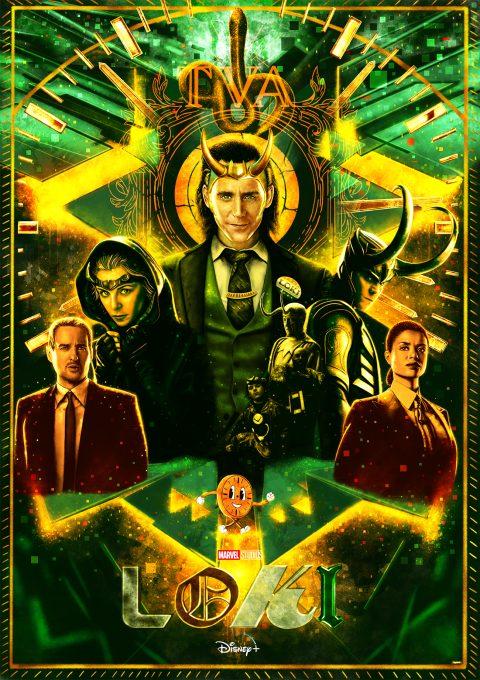Loki alternative poster