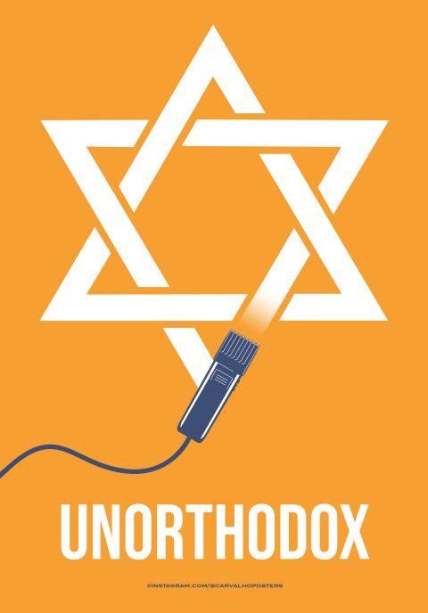 Unorthodox Minimalist Poster