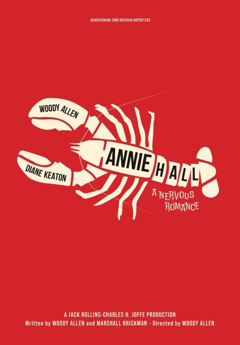 Annie Hall Minimalist Poster