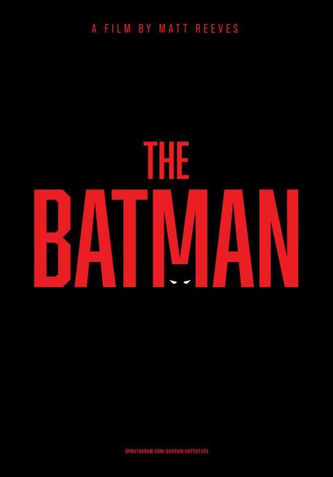 The Batman Minimalist Poster