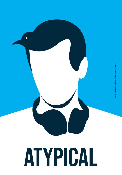 Atypical Minimalist Poster
