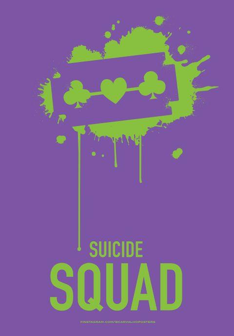 Suicide Squad Minimalist Poster