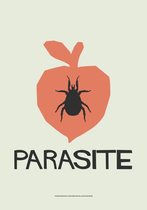 Parasite Minimalist Poster