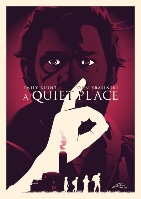 A QUIET PLACE Poster Art