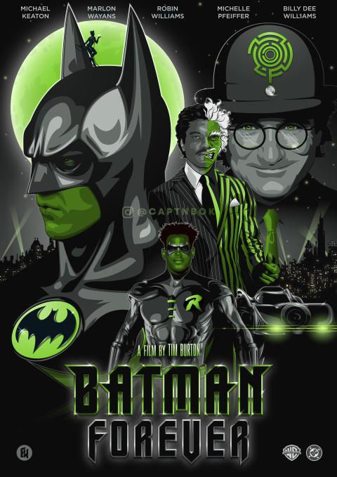 Tim Burton's Batman Forever (Riddler)