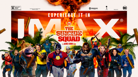The Suicide Squad IMAX Poster