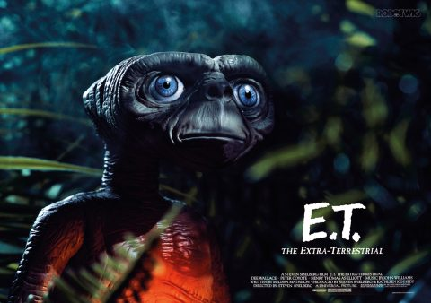 E.T. The Extra Terrestrial Alternate Movie Poster