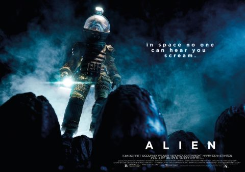 Alien Alternate Movie Poster
