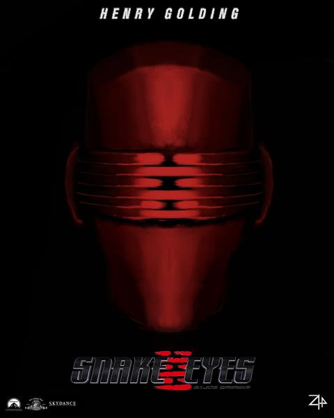 """""""Snake Eyes : G.I.Joe Origins"""" Movie Poster by Zyphrr44"""
