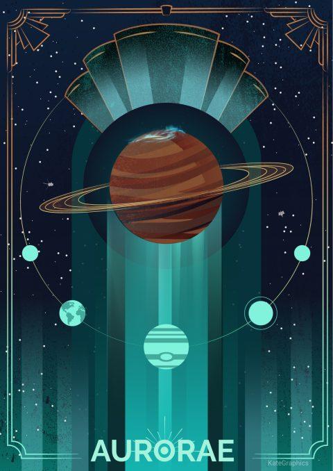 Aurora in Saturn