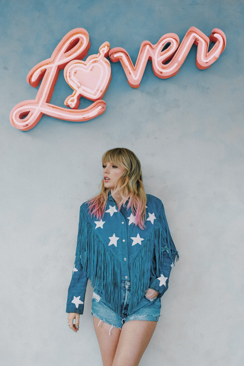 Taylor Swift Lover poster