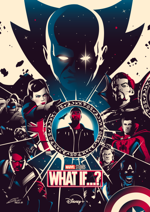 Marvel WHAT IF Poster Art