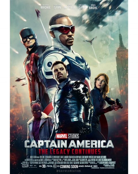 Captain America 4 Poster Design