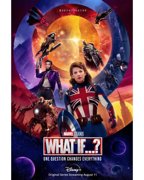 Marvel Studios WHAT IF Live Action Poster