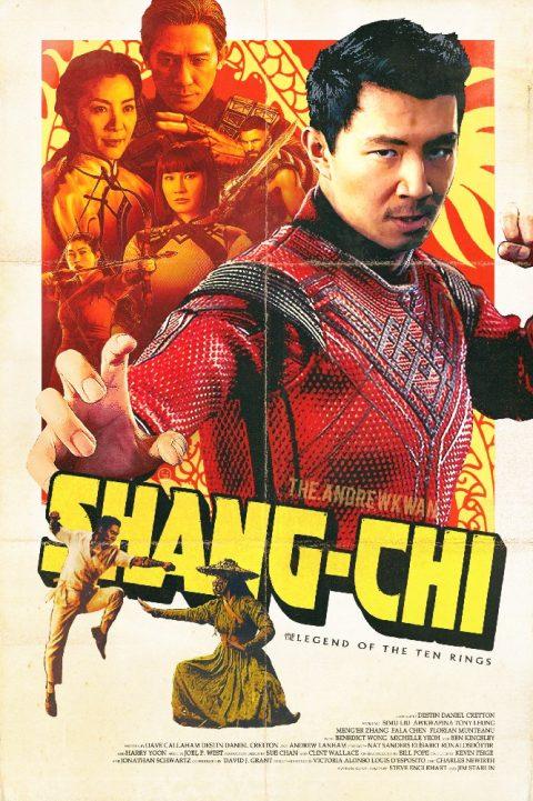 Shang-Chi Retro poster