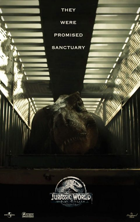 It Was All a Lie – Jurassic World Fallen Kingdom Alternate Poster