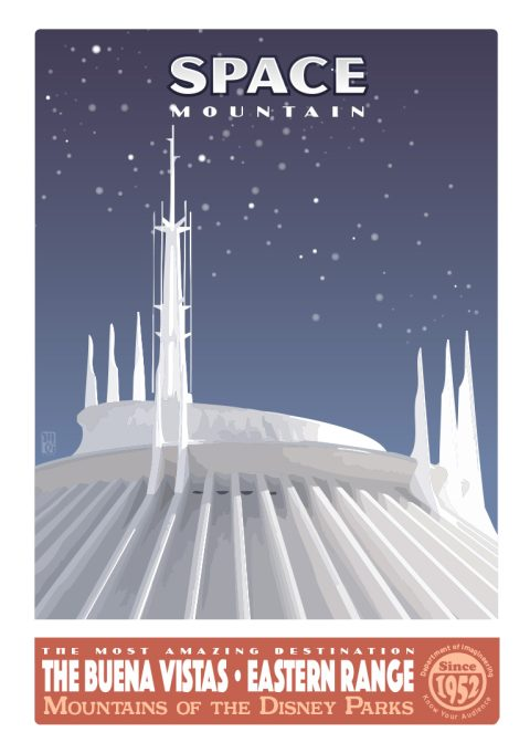 The Most Amazing Destination – Space Mountain