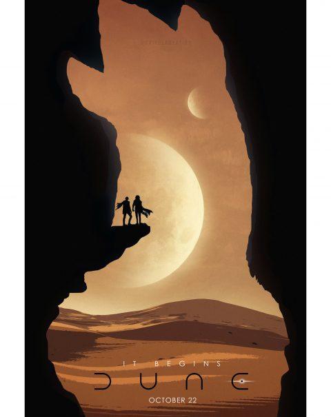 Dune Movie Poster Art 02