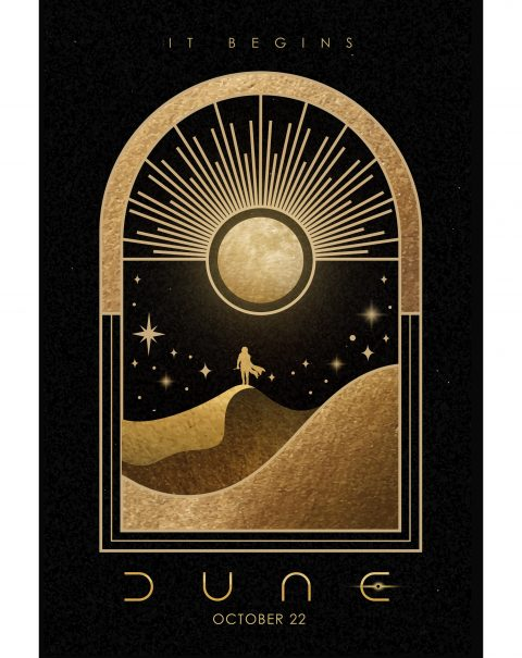 Dune Movie Poster Art