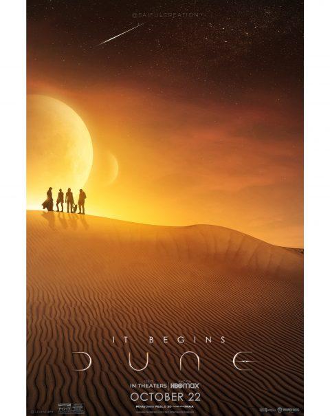 Dune Movie Poster Design