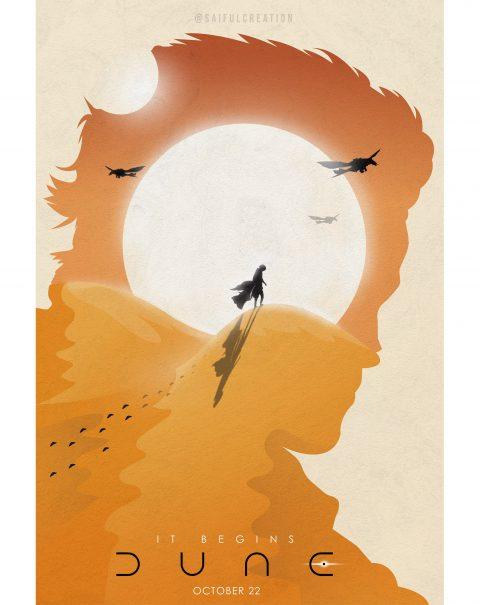Dune Movie Poster Art 01