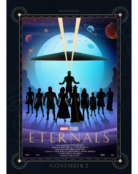 Eternals Poster Art