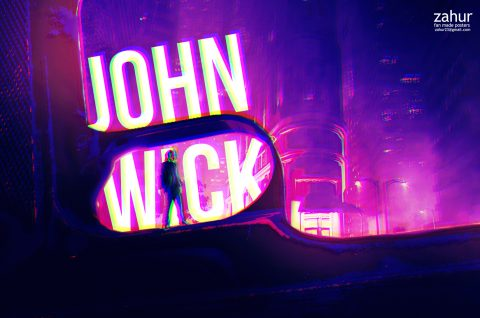 fan made poster john wick
