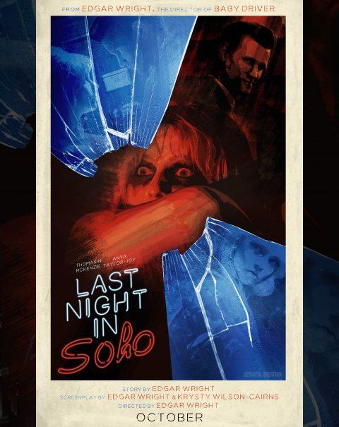 Last Night In Soho Poster Art