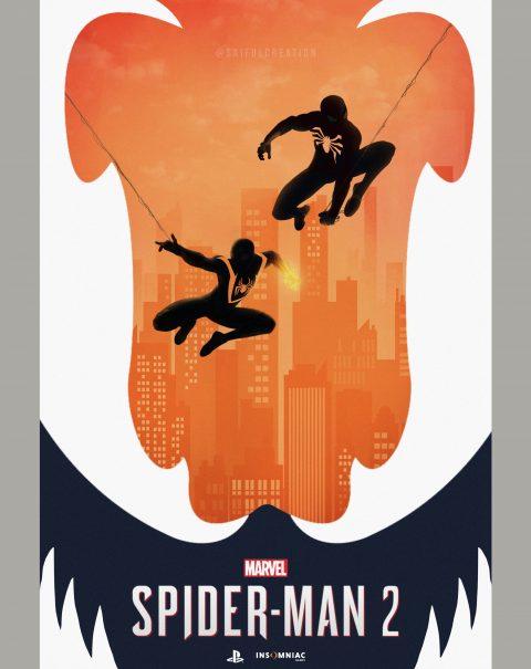 Spider-Man 2 PS5 Poster Art