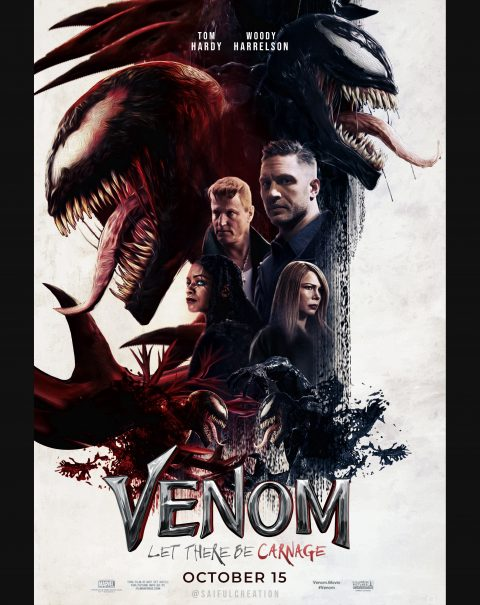 Venom; Let There Be Carnage Poster