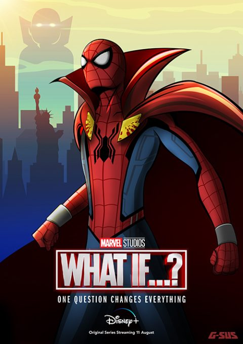 G-SUS ART WHAT IF…? SPIDER-MAN POSTER