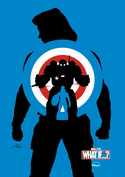 Marvel Studios WHAT IF (Ep 1) Poster Art