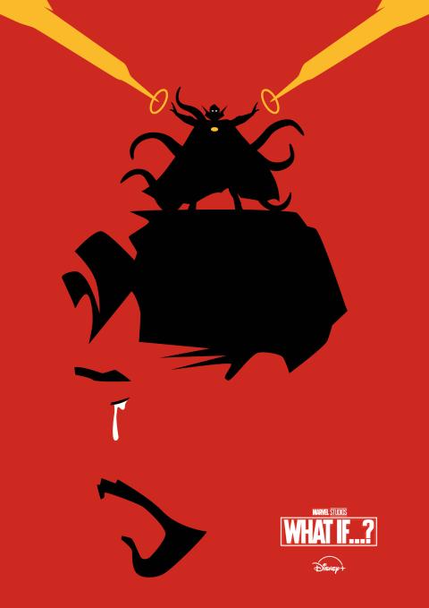 Marvel Studios WHAT IF (Ep 4) Poster Art