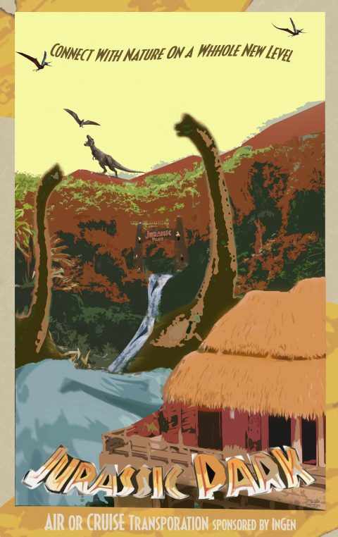The Most Amazing Destination – Isla Nublar 1993