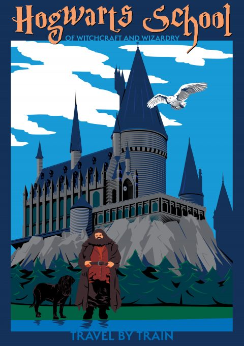 The Most Amazing Destination  — Hogwarts