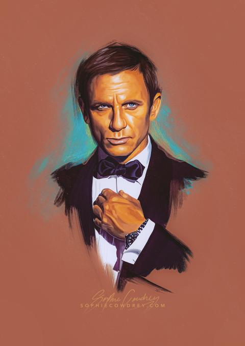James Bond I – Portrait Study