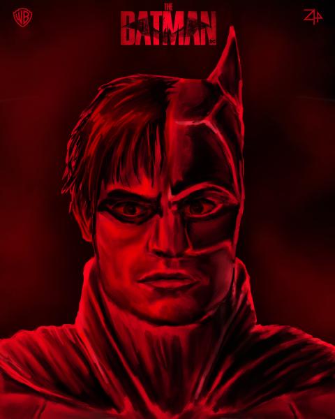 """""""The Batman"""" Fan Art Poster by Zyphrr44"""