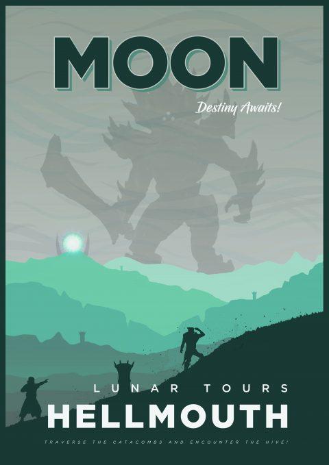 The Most Amazing Destination – Moon