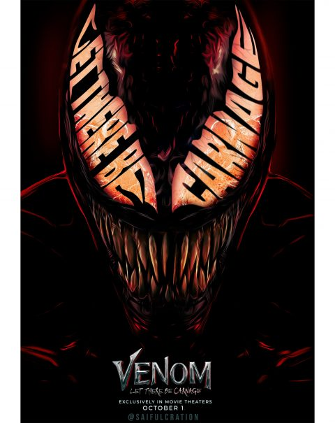 Venom; Let There Be Carnage Poster Art