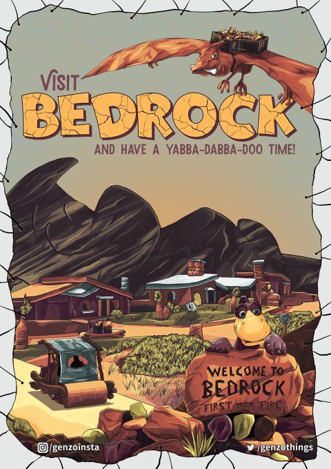 The Most Amazing Destination – Bedrock